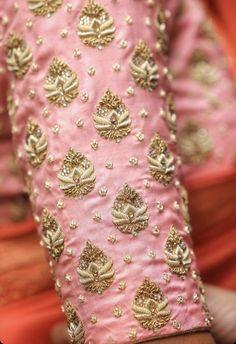 Wedding Saree Blouse Designs, Pattu Saree Blouse Designs, Fancy Blouse Designs, Hand Work Blouse Design, Stylish Blouse Design, Peacock Embroidery Designs, Maggam Work Designs, Hand Work Embroidery, Hand Designs