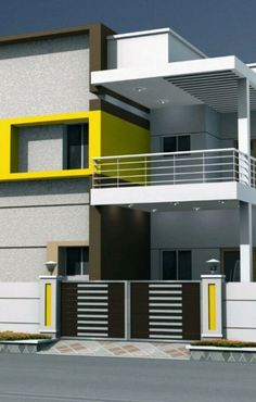 66 Beautiful Modern House Designs Ideas & Tips to Choosing Modern House Plans - 66 Beautiful Modern House Designs Ideas – Tips to Choosing Modern House Beautiful Modern House Designs Ideas – Tips to Choosing Mo Bungalow Haus Design, Duplex House Design, Duplex House Plans, Modern House Plans, Small House Plans, Modern House Design, House Outside Design, House Front Design, Independent House