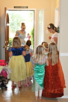Princess scavenger hunt and other activities for a Princess Party!
