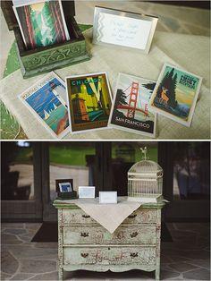 guest book ideas http://www.weddingchicks.com/2013/10/23/north-carolina-wedding/
