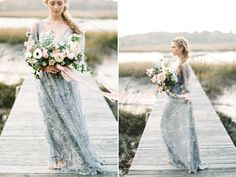 33 Whimsical and Ethereal Wedding Dresses for Fairy Tale Brides