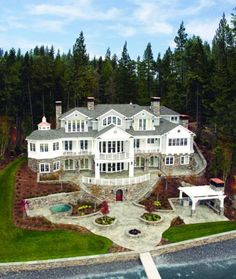 ~Grand Mansions, Castles, Dream Homes Luxury Homes ~Wealth and Luxury Lovely! ~Grand Mansions, Castles, Dream Homes Luxury Homes ~Wealth and Luxury Mansion Homes, Dream Mansion, Future House, My House, Villa Architecture, Belle Villa, Big Houses, Home Living, Living Room