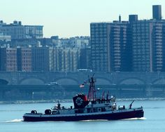 MAR1 FDNY MARINE 1 Fire Rescue Boat, Hudson River, New York City | Flickr - Photo Sharing!