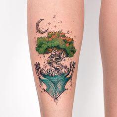 """3,499 curtidas, 26 comentários - Robson Carvalho Art (@robcarvalhoart) no Instagram: """"✨ Temos muita vida em nossas mãos, foi assim q me inspirei pra criar a tattoo da Carol, que além de…"""""""