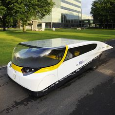 Stella solar-powered family car by Eindhoven University of Technology