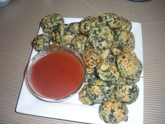 Good vegetarian alternative to meatball appetizers. Can be also be made gluten free.