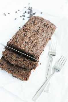 Gluten Free Chocolate Zucchini Bread | Nutrition Stripped Recipes