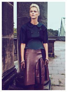 "Carmen Kass "" ¡Al Asalto! "" by Koray Birand Vogue Mexico September 2012"