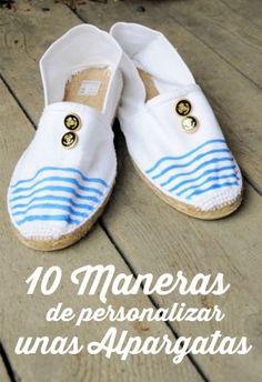 2a6b5418 Las 41 mejores imágenes de Alpargatas y sandalias | Espadrilles ...