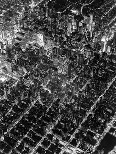 """""""Gotham 7.5K"""" - A Rare High Altitude Night Flight Above NYC. 