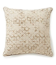 Moderne by Noble Excellence Kendrix Linen and Cotton Pillow #Dillards