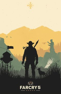 Far Cry 5 Poster - Created by Felix Tindall