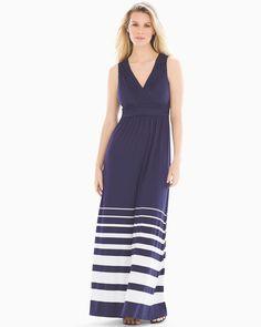 59672252bc2 Soma Shirred Bodice Maxi Dress Sanctuary Stripe Navy. Multi Way DressFlattering  DressesBox PleatsClothes ...