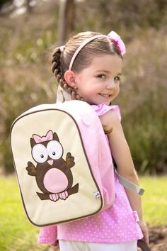 when my daughter starts school nest year i WANT THIS! Educational Toys For Kids, Kids Toys, Toddler Backpack, Childrens Shoes, Animal Design, Baby Toys, Little Ones, Leather Backpack, Fashion Backpack