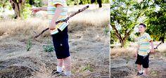 little boy  #photography #sticks #adventure