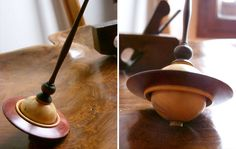 The scents of Luciano Molinari's art forest - Italian Ways Different Types Of Wood, Spinning Top, Wooden Tops, Wood Lathe, Cool Tools, Wood Turning, Wood And Metal, Projects To Try, Arts And Crafts