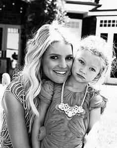 Mama's gorgeous girl! Jessica Simpson is not ready for her firstborn daughter, Maxwell Drew, to grow up. But the fashion designer's baby girl is a baby no more!