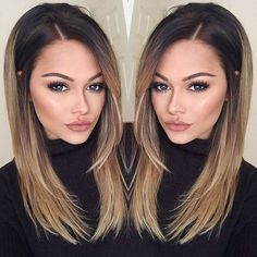 Haarfarben 33 Best Ombre Hair Color Ideas Hair Color Wedding Crasher: Why Crash Your Bash A p Hair Color And Cut, Ombre Hair Color, Fall Hair Colour, Haircut And Color, Best Ombre Hair, Hair Looks, Hair Lengths, New Hair, Hair Inspiration