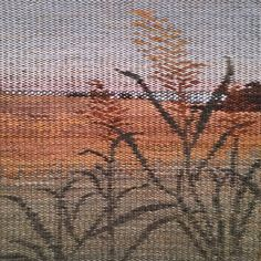 Tapestry weaving by Phyllis Koster