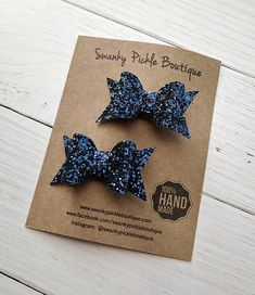 Filles Handmade 4 Baby//Toddler Petit Floral Glitter hair bow Clips