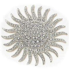 Jacquie Kennedy's sunburst pin.