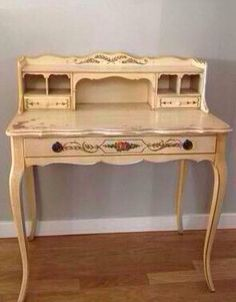 Vintage French Provincial Writing Desk By Provincialbutfrench 699 00