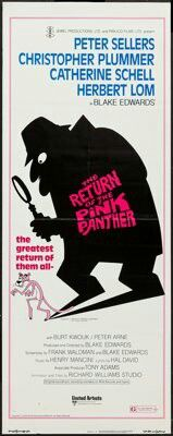 The Return of the Pink Panther (1975) Peter Sellers, Christopher Plummer, Catherine Schell, Herbert Lom
