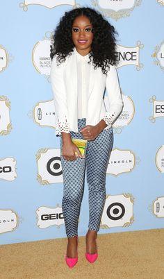 Keke Palmer At The ESSENCE Black Women In Hollywood AwardsLuncheon