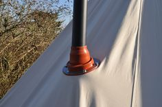 The flashing kit you can get so you can fit your Frontier stove into your tent. Awesome
