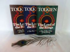 The Lord of the Rings 3 Volume Set of Paperbacks / 1970s Unwin Paperback Editions With Desirable Vintage UK Covers / In Good Condition by BumperBoxofDelights on Etsy