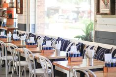 Kelly Elizabeth Style: Tampa Fave: bartaco Tacos Menu, Brick Sidewalk, Umbrella Cover, Maje, Great View, Restaurant, Indoor, Home Decor, Style