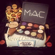 MAC make up  Cake by SweetBakings