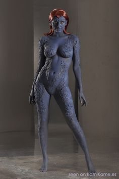 Mystique- Cosplay - Imgur  My ideal body is not a number or size, but instead the confidence to do a mystique cosplay!