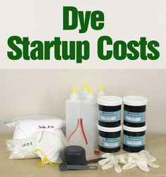 Ever wonder how expensive dyeing is?
