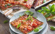 MAGGI Rezeptidee fuer Zucchini-Pizza