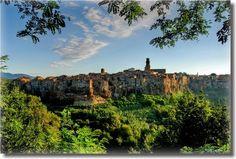Pitigliano Province of Grosseto, Italy