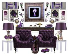 """""""Prince Tribute"""" by bcurryrice on Polyvore featuring NOVICA, Kartell, Modena, ELK Lighting, John-Richard, Dale Tiffany, Lalique, Mrs Moore's Vintage Store, Playforever and Biltmore"""