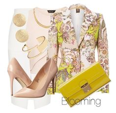 Shadow of summer by agency-blooming on Polyvore featuring polyvore, fashion, style, L'Agence, Madden Girl, Marc Jacobs, Nordstrom, Sole Society, White House Black Market and clothing