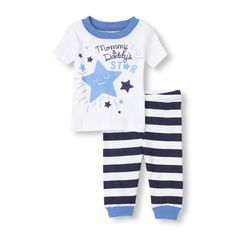 A comfy pj set that will make your little star twinkle!