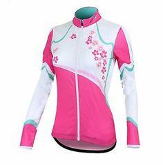 long sleeve womens road bike jerseys | Womens Cycling Long Sleeve Jersey Bike Wear Tops Breathable Quick Dry ...