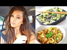 What I Eat On A School Day • Healthy, Vegan & Easy - YouTube