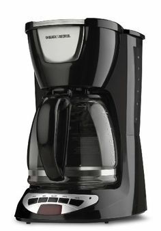 Black Decker Dcm100b 12 Cup Programmable Coffeemaker With Gl Carafe Http