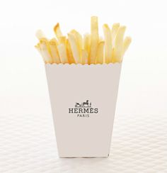 Lunch time with Hermes fries!