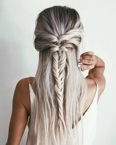 Zöpfe langes Haar #langes #zopfe