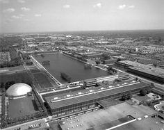 Eero Saarinen  General Motors Technical Center Warren, Michigan  1949-1956 © Michigan State