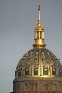 Megan Sankoff (Example) Top of the Capital Building in Charleston WV (Plus other views, inside & out.)