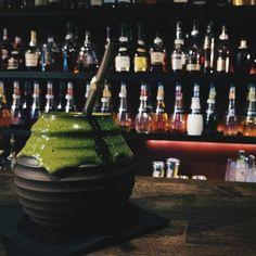 Yerba Mate. Kadr. <3  #yerba #mate #yerbamate #bartender #alcohol #gin #whisky #rum #liquer #green #work #bottles #barman #bar #kadr #alkohol #drink #praca #chill #przerwa #zielony