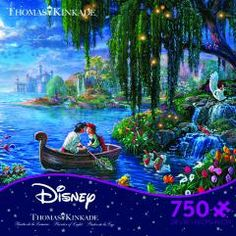 Offical home of Thomas Kinkade jigsaw puzzles. 300, 500, 1000 piece puzzles. All made in the USA.