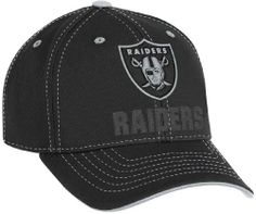 info for 89c4c dd6ae NFL Boy s End Zone Youth Structured Adjustable Hat - NE08B, Oakland  Raiders, Youth 4-7 Reebok.  8.99. Save 50%!