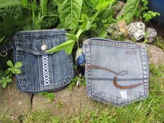 Jeans-Upcycling - Tag 6